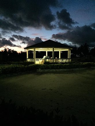 Photo of the night sky in Dzita